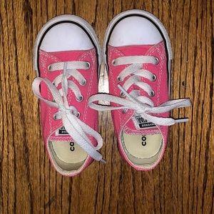 Hot Pink Toddler Converse